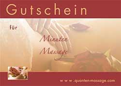Massage Gutschein herunterladen